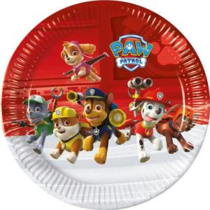 Paw Patrol Ready for Action Plates (8)