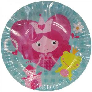 Princess and The Frog Paper Plate-small (6)
