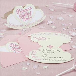Princess Party Invitations (10)