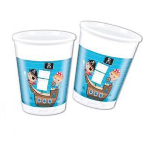 Pirate Treasure Hunt Plastic Cups (8)