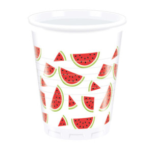 Watermelon Plastic Cups (8)