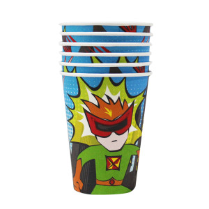 Little POW Superhero Cups (6)