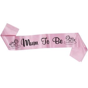 Mum to Be Girl Sash