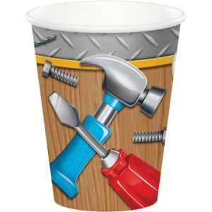 Handyman Paper Cups (8)