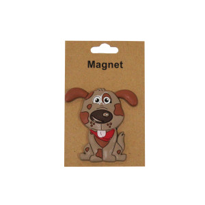 Cute Spotted Dog Magnet