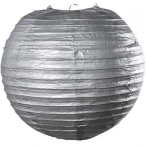 Silver Wired Lantern - 25cm