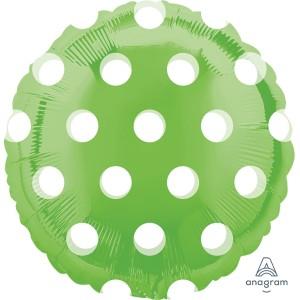 Lime Green MagiColor Foil Balloon 18 inch