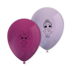 LOL Surprise Printed Balloons (8)