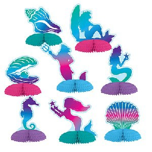 Mermaid Mini Centerpieces (8)