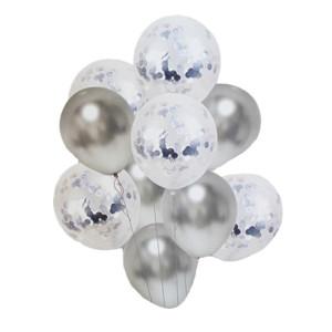 Silver Balloon Bouquet (10)