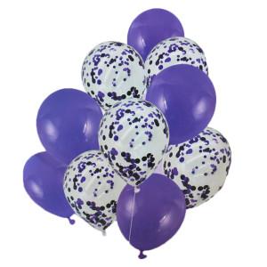 Purple Balloon Bouquet (10)