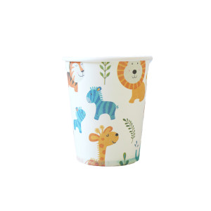 Sweet Safari Paper Cups (10)