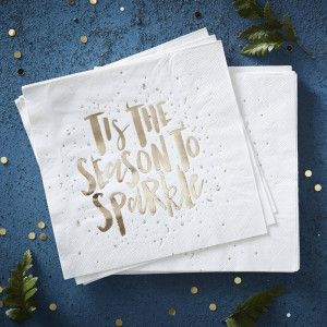 Tis the Season to Sparkle Napkins (16)