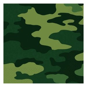 Camo  Lunch Napkins (16)