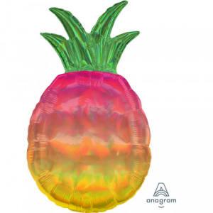 Pineapple Ombre Super Shape Foil Balloon