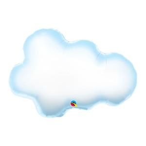 Puffy Cloud Super Shape Foil Balloon 30 inch