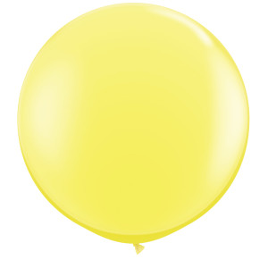 Pastel Yellow 36 inch Latex Balloon