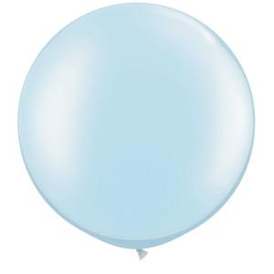 Pastel Blue 36 inch Latex Balloon