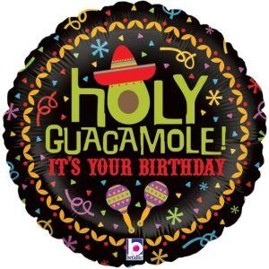 Mexican Holy Guacamole 18 inch Foil Balloon