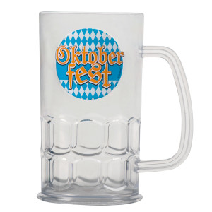 Oktober Fest Glass Beer Mug (Each)