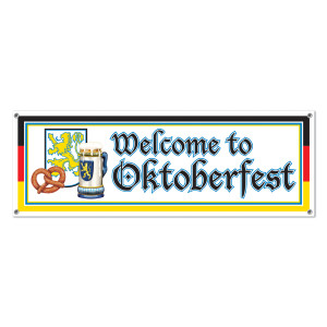 Welcome to Oktober Fest Sign