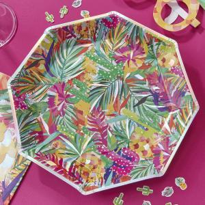 Hot Summer Paper Plates (8)