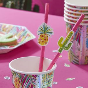 Hot Summer Paper Straws (16)