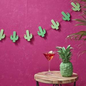 Hot Summer Cactus Bunting
