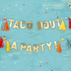 Viva La Fiesta Taco Bout A Party Bunting