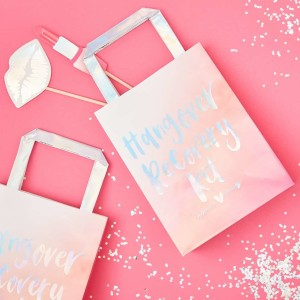 Bride Tribe Paper Hangover Recovery Bags (5)