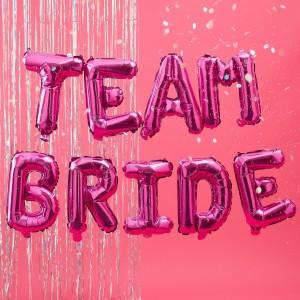 Bride Tribe Balloon Team Bride Foil Balloon Kit 16 Inch