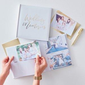 Gold Wedding Photo Album