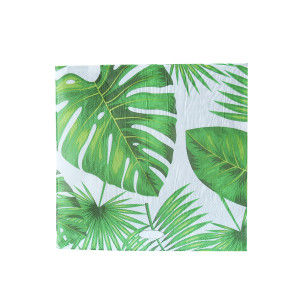 Tropical Jungle Leaves Napkins (20)
