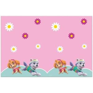 Pink Paw Patrol Plastic Table Cover