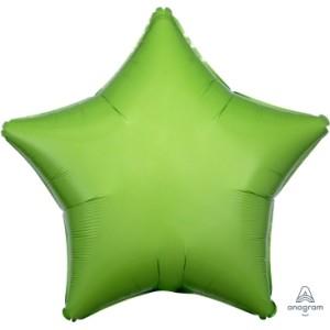 Kiwi Green Star Foil Balloon 18 inch