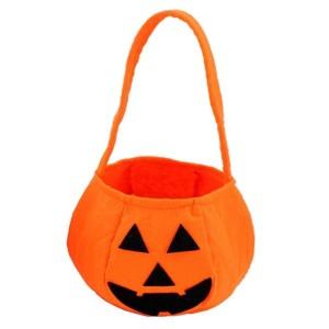 Trick or Treat Pumpkin Bags Fabric 15cm