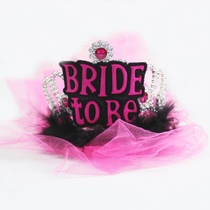 Bride to be Furry Tiara