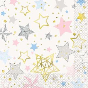 Twinkle Twinkle Little Star Lunch Napkins (16)