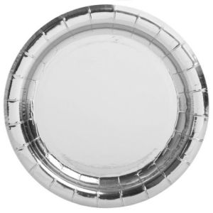 Silver Foil Lunch Plates (8)