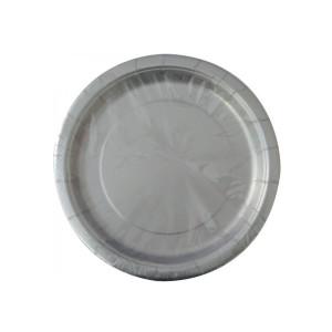 Silver Paper Plates Small (8)