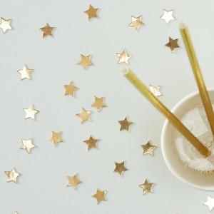 Metallic Gold Star Confetti (14g)