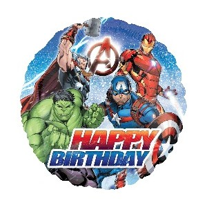 Avengers Happy Birthday 18 inch Foil Balloon