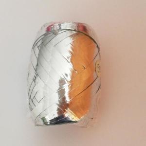 Silver Metallic Ribbon Bobbin 5mm x 20m