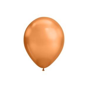 Copper Chrome Balloons (5)