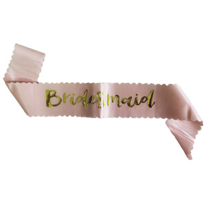 Bridesmaid Sash