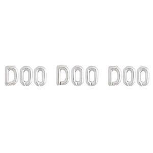 Doo Doo Doo Silver Foil Balloon Kit