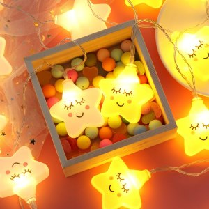 Star Lights Warm Yellow