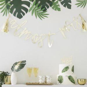 Botanical Bachelorette Gold