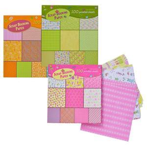Scrapbook Paper Sheets 20x20cm (100)