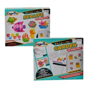 Mould and Paint Your Own Fridge Magnet Kit